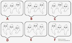 Fun For All: Three Ghosts Odd One Out Puzzle Ghosts, Puzzles, Third, Fun, Puzzle, Demons, Lol, Funny