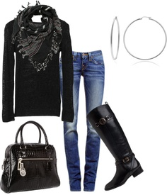 """Perfect for fall"" by honeybee20 on Polyvore"