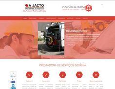 Criação de Site Institucional: A JACTO Goiânia
