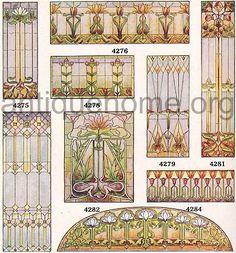 Art Glass Windows::Universal Millwork catalog 1920