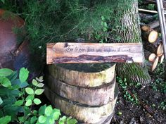 So I Can Kiss You Anytime I Want Rustic by SawmillCreations, $25.00