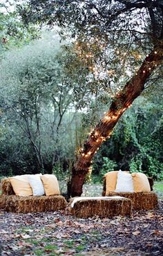 Love it, so easy and comfy- would be great around the fire pit and then be reused for compost for the garden.