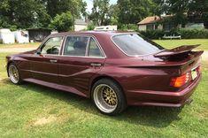 1987 Mercedes Benz 560SEL Rear