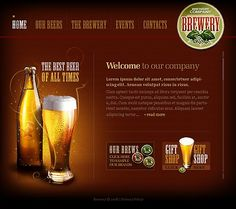 Design gets time... Get Template Espresso! That's Flash #template // Regular price: $61 // Unique price: $2750 // Sources available:.SWF,  .HTML,  .PSD, .FLA #Flash #Drink #Brewery #Beer