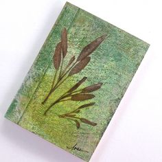 """""""Sagacious"""" - a one of a kind mini writing journal to record your wisdom *and* folly!"""