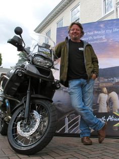Charley and Russ will be riding a pair of BMW GS1200's across South Africa