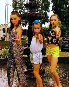 Kendall, Mackenzie and Maddie in LA