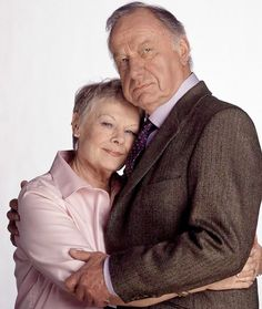 Judi Dench & Geoffrey Palmer ~ As time goes by  my absolute, all-time favorite, truly my otp jean and lionel