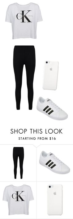 """""""last set!"""" by maliyah-waldron on Polyvore featuring Boohoo, adidas and Calvin Klein"""