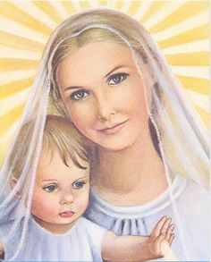 Our Blessed Mother with our Lord Jesus