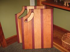 wooden cutting board by Teaberrywoodproducts on Etsy, $35.00