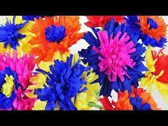 Papierblumen aus Krepppapier basteln | flora-shop.eu