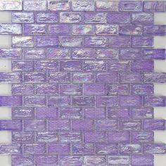 purple glitter glass tiles kitchen backsplashes pinterest