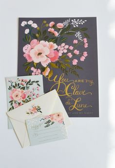 Claire de Lune Invitation Suite by The First Snow http://www.weddingchicks.com/2014/02/06/who-is-your-clair-de-lunewedding-collection-by-the-first-snow/