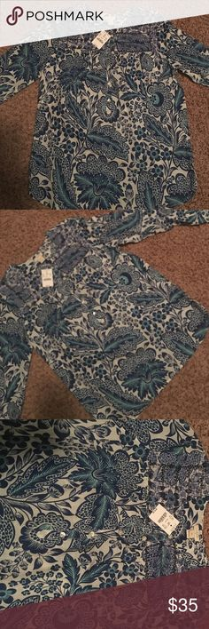 J CREW TOP 💕SALE 100% cotton never worn. In mint condition. j crew Tops