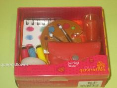 "OUR GENERATION JUST ADD WATER ACCESSORY SET FOR 18"" DOLL #OURGENERATION"
