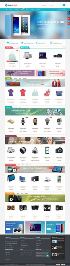 Bigshop is a professional WordPress theme for multipurpose eCommerce website…