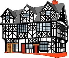 home house clip art architecture building Free Pictures, Free Images, Top Free, Art And Architecture, High Quality Images, Facade, Clip Art, Cottage, Windows