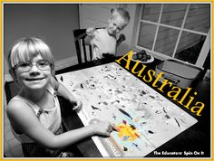 Learning about Australia through Fun and Cooking with Kids
