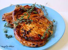 Honeyed Thyme Pork Chops