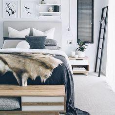 Scandinavian interior - bedroom