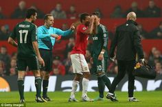 The red card given to Nani yesterday during Manchester United's second leg match with Real Madrid is the biggest topic in European football right now. Real Madrid Official, Official Manchester United Website, Man Utd News, Sir Alex Ferguson, Live Matches, Match Highlights, Old Trafford, European Football, Uefa Champions League