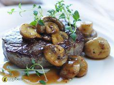 Φιλέτο με μανιτάρια και ουίσκι - gourmed.gr