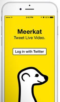 Stream Promotional Content with Meerkat