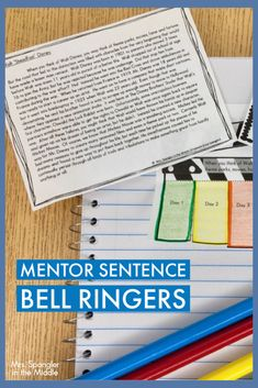 Your Middle School students will learn about various English skills including punctuation, capitalization, adjectives, adverbs (word choice), and review some basic reading skills all with these perseverance themed bell ringers!This resource includes an original non-fiction text about Walt Disney. Supporting growth mindset, the topic of perseverance is perfect for the beginning of the year! #mentorsentences #grammar Teaching Themes, Teaching Writing, Writing Practice, Teaching Resources, Middle School Reading, Middle School Classroom, High School, Mentor Sentences, Mentor Texts