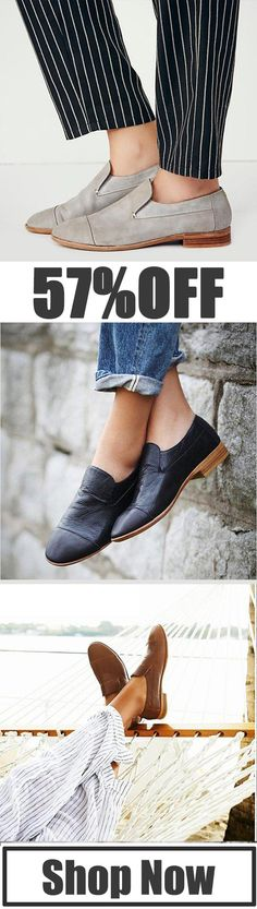 Solid Slip On Loafers Casual Low Heel Loafers Heeled Loafers, Discount Sites, Shoe Boots, Shoes, Low Heels, Clothing Ideas, Cloths, Black And Brown, Healthy Snacks