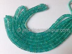 Apatite Smooth Tube Gemstone Beads.