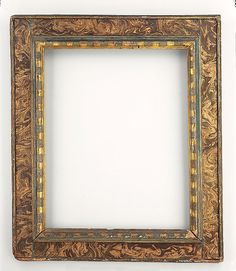 Reverse cassetta frame Antique Picture Frames, Old Frames, Antique Frames, Vintage Frames, Renaissance, Diy Wall Decor For Bedroom, Mirror Painting, Miniature Crafts, Diy Mirror