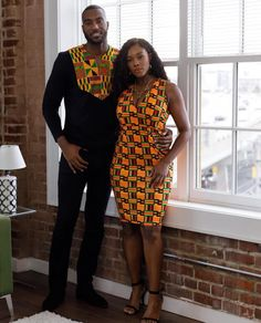 Have you been wondering how you can twin up your Ankara fashion outfit with your boo or bae? Then, this Ankara slay inspiration is for you. The designer, Diyanu, created… Couples African Outfits, African Clothing For Men, Couple Outfits, African Attire, African Wear, African Style, Nigerian Men Fashion, Latest African Fashion Dresses, African Print Dresses