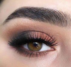 90b4ff980fd bronze shimmer & a smokey outer corner. neutral eye makeup, no liner