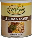 Delicious 16 Bean Soup, 60 Servings, 30 Year Shelf Life www.fullmoonsurvival.com #survival #prepping #foodstorage Zombie Survival Guide, Doomsday Survival, Survival Mode, Camping Survival, Survival Prepping, Emergency Preparedness, Survival Stuff, 16 Bean Soup, Canned Food Storage