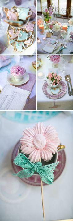 Tee-Party Hochzeit