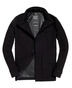 Superdry Fleet Jacket Black