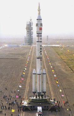 /by troubadour1 #flickr #china #LM2F #rocket #Shenzhou
