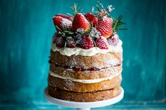 Buckwheat Cake with Berry Compote & 'Love, Aimee x' Giveaway | Cygnet Kitchen | Cygnet Kitchen