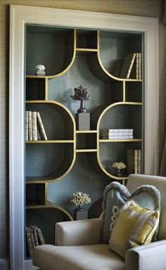 images about RECESSED SHELVES on Pinterest