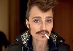 Shot of the Day: Kristin Scott Thomas Does Drag King for 'Double' Mag