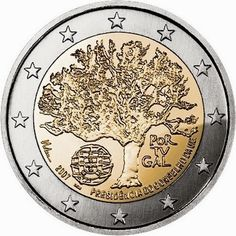 Portuguese commemorative 2 euro coins 2007 - Portuguese Presidency of the Council of the European Union