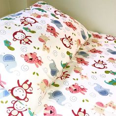 Decorate your little one's bedroom with this adorable cotton duvet cover set. Featuring adorable jungle creates in vibrant colours, let your little ones drift off in comfort and style. Big Girl Bedrooms, One Bedroom, Girls Bedroom, Cot Bed Duvet Cover, Cot Duvet, Duvet Sets, Duvet Cover Sets, Safari, 100 Cotton Duvet Covers