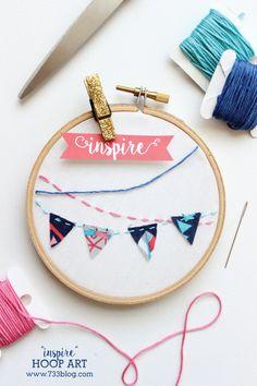"DIY ""Inspire"" Hoop A"