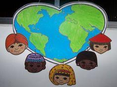 Children's Day Craft, International Children's Day, Child Day, Jesus Loves, Grinch, Kindergarten, Lunch Box, Paper Crafts, Nursery