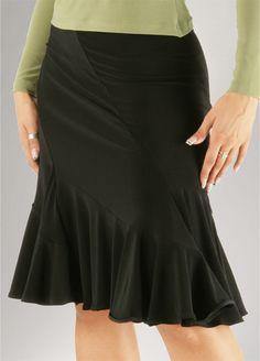 Zdenka Arko Latin Skirt S608, latin dance skirt