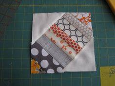 leedle deedle quilts: 12 inch String X block tutorial