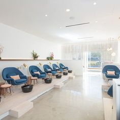 The Best Designed Nail Salons In The Country - We wouldn't mind getting pampered in these pretty spaces. - Photos