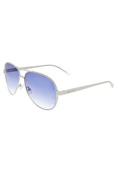 Óculos de Sol Italia Independent Fly branco, feitos em metal com estrutura  fechada. Apresentam 0f3f639a18