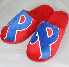 Philadelphia Phillies MLB Big Logo Hard Sole Slide Slippers  https://allstarsportsfan.com/product/philadelphia-phillies-mlb-big-logo-hard-sole-slide-slippers/  Official team colors and Big Logo Officially Licensed Warm and comfortable!